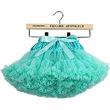 6ae3cadd6 Niñas de capas de volantes Tulle ballet tutú falda ...