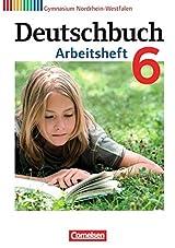 Deutschbuch Gymnasium - Nordrhein-Westfalen: 6. Schuljahr - Arbeitsheft mit Lösungen