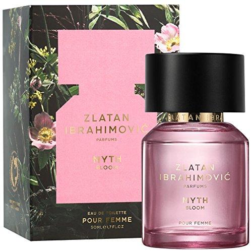 ZLATAN MYTH BLOOM 50 ml - Parfüm für Damen aus der Kollektion von Zlatan Ibrahimovic - Eau de Toilette / Parfum für Frauen - Natürlich süßer Damenduft