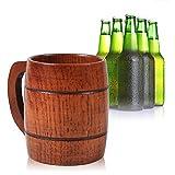Boccale Da Birra In Legno Fatto A Mano Per Casa E Caffe Bar