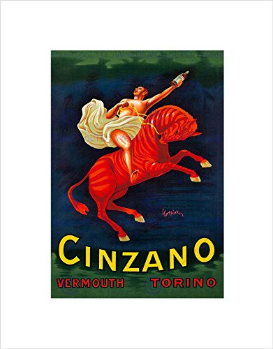 cinzano-vermouth-1910-home-deco-black-framed-art-print-picture-b12x6957