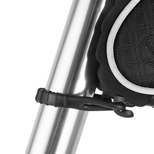 RockBros Fahrradsatteltaschen Satteltaschen Sitztaschen Wasserfest beim Leichten Regen Schwarz
