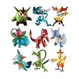 Pokemon Ivysaur / Charmeleon / Wartortle Battaglia Posa Figures (pacchetto di 3)