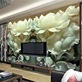 ZYT Art Decó / 3D Fondo de pantalla Para el hogar Contemporáneo Revestimiento de pared . Lienzo Material adhesiva requerida Mural . . xxl
