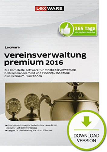Vereinsverwaltung 2016 Premium [Download]