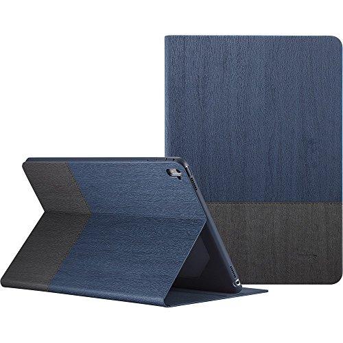 ESR iPad Pro 9.7 Hülle, Auto aufwachen/Schlaf Funktion und Einstellbarem Blickwinkel Funktion Schutzhülle für iPad Pro 9.7 Zoll (Marineblau)