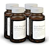 1000mg Resveratrol x 360 tablets - (4 bottles each with 90 tablets - 12 months supply). 10 x strength and with black pepper extract for faster absorption. SKU: RV3x4