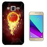 003066 - Basketball on fire Design Samsung Galaxy Grand