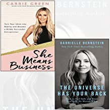 She Means Business,The Universe Has Your Back 2 Books Collection Set - Turn Your Ideas into Reality and Become a Wildly Successful Entrepreneur