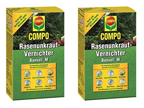 COMPO Rasenunkraut-Vernichter Banvel M 480ml Vorteilspackung (2x240ml)