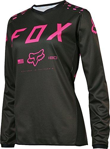 Fox 2017 Damen Motocross / MTB Jersey - 180 Race - schwarz-pink: Größe Jersey: M