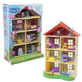 Giochi Preziosi Peppa Pig Mega Casa con 3 Personaggi
