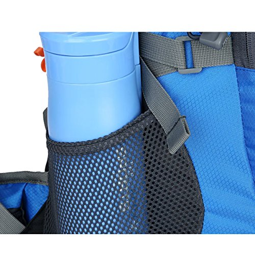 All'aperto Campeggio multifunzione Sport Escursionismo arrampicata Viaggio Le spalle Impermeabile Zaino (Blu scuro) Blu scuro
