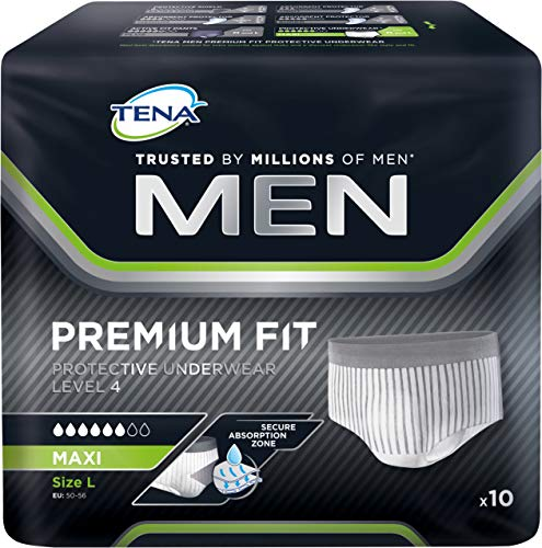 TENA MEN Adult Underwear Large 10 Pieces