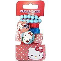 GABBIANO Clic-Clac + Flexible Hello Kitty 36607 (36047) Accesorios Para El Cabello