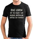 Touchlines Herren Das Leben ist zu kurz. T-Shirt SF117 black/silver M