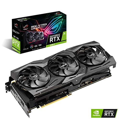 ASUS ROG Strix GeForce RTX 2080 Ti OC Edition 11GB GDDR6 PCI Express Graphics Card