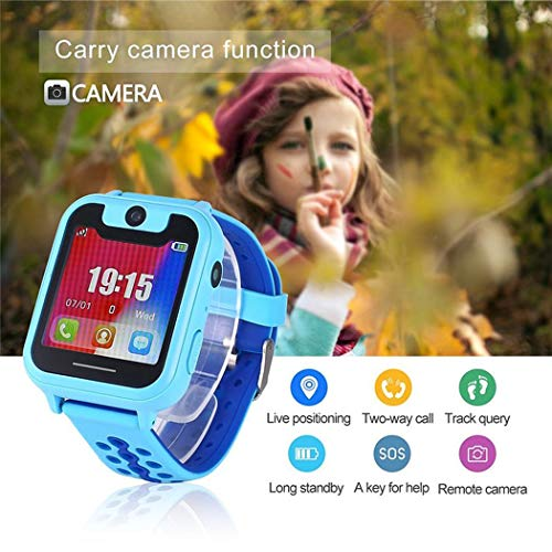 Ultrey Kinder Smart Watch Phone Kamera Anruf Anti-verlorene SOS Tracker Sportuhr Running GPS-Geräte