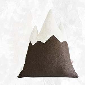 Regalo creativo del cuscino del cuscino della forma di montagna , coffee