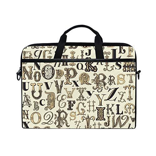 habet Laptop Schultertasche Messenger Bag Tasche Aktentasche mit Tragegurt für Männer Frauen Jungen Mädchen ()