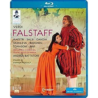 Verdi: Falstaff (Parma 2011) [Ambrogio Maestri, Luca Salsi, Antonio Gandia [C Major: 725304] [Blu-ray] [2013]