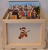 Vinyl Record LP Holz Aufbewahrung Box