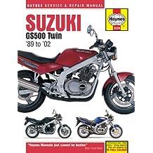 Suzuki GS500 Twin Service and Repair Manual: 1989 to 2002 (Haynes Service and Repair Manuals)