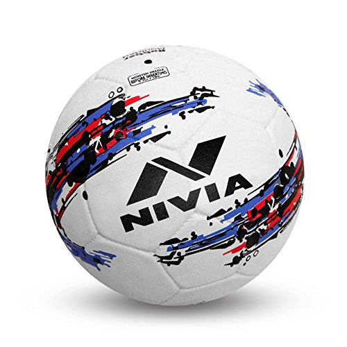 Nivia Storm Football, Size 5  White