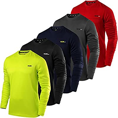 TCA Men's Element Long Sleeve Crew Neck Running Top