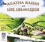 Agatha Raisin and Love, Lies and Liquor - Audible/Bolinda Audio