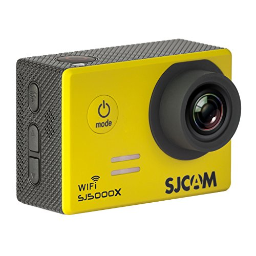 SJCAM Original SJ5000X Elite Sports Action Camera Full HD 4K 1080P 12MP 170° Wide Angle Lens with Sony IMX078 Sensor Gyro Waterproof WiFi HDMI with Free Accessories for Helmet Diving Bicycle Car DVR