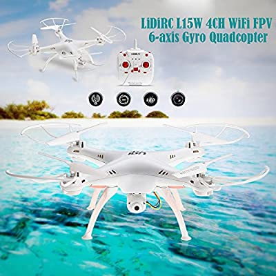 YISI LiDiRC 2.4G 6-axis Gyro Quadcopter WiFi FPV RC Drone with 4CH HD Camera