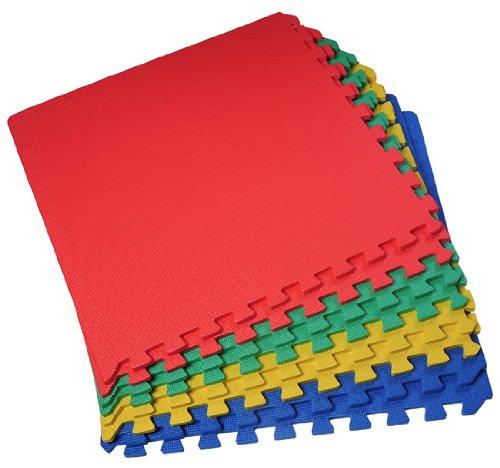 homcom-32-sq-ft-interlocking-floor-foam-play-mat-mats-eva-mulit-coloured-set-of-8