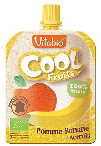 Vitabio - Cool Fruits Pomme Banane 3X90G Bio - Lot De 5 - Livraison Rapide En France - Prix Par Lot