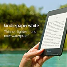 "Kindle Paperwhite (10th gen) - 6"" High Resolution Display with Built-in Light, 8GB, Waterproof, WiFi"