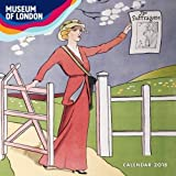 Museum of London - Votes for women Wall Calendar 2018 (Art Calendar)
