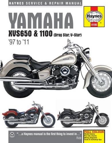 Yamaha Xvs650 & 1100 Drag Star/V-Star (97 - 11) (Haynes Service & Repair Manual) por Phil Mather