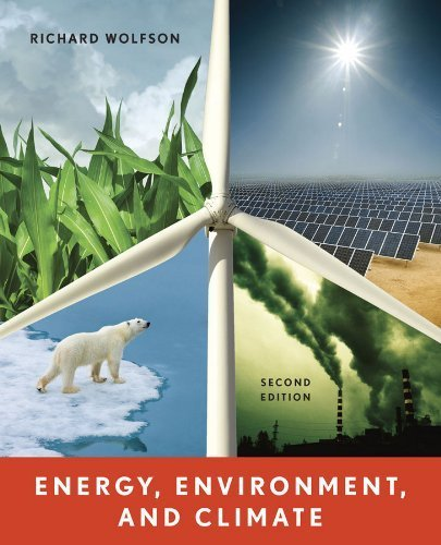 Energy, Environment, and Climate (Second Edition) 2nd by Wolfson, Richard (2011) Paperback