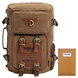 Best KAUKKO Backpacks For Women - Travel Backpack with Laptop Compartment, KAUKKO Canvas Rucksack Review