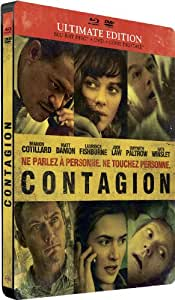 Contagion [Ultimate Edition boîtier SteelBook - Combo Blu-ray + DVD]