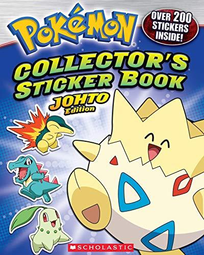 Pokémon: Collector's Sticker Book: Johto Edition