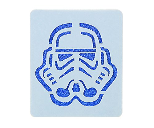 Star Wars Schablone - Star Wars Stormtrooper Face Painting Stencil