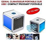 LE CLUB MECANIQUE Puissant CLIMATISEUR Compact sur USB ! -10° en 4MN ! Voiture 4X4...