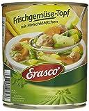 Erasco Frischgemüse-Topf mit Fleischklößchen, 3er Pack (3 x 800 g Dose)
