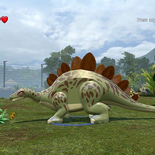 Clip: Unlocking the Stegosaurus - Stegosaurus Herd, Isla Sorna (Lost World) (Lego Herd)