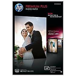 HP CR677A Papier photo premium plus 10 x 15 Brillant