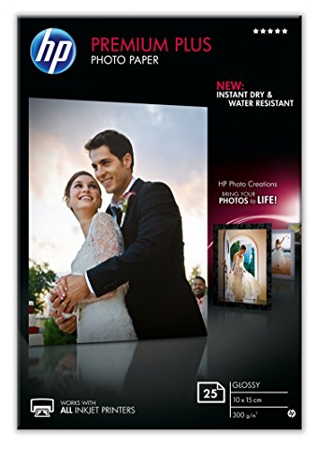 HP Premium Plus Photo Paper 25 Blatt glossy