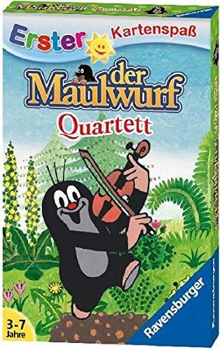 Ravensburger 20435 9 Kartenspiel Quartett - Der Maulwurf