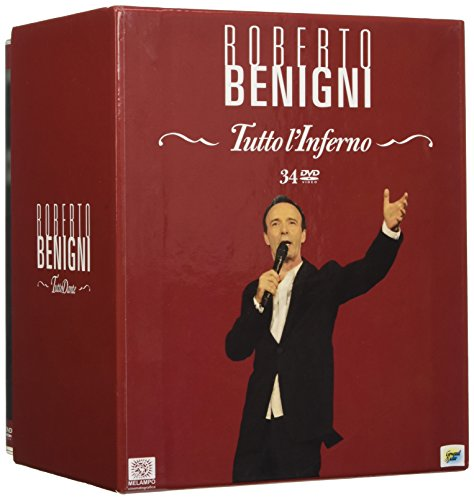 Benigni Tutto L'Inferno (Box 34 Dvd)