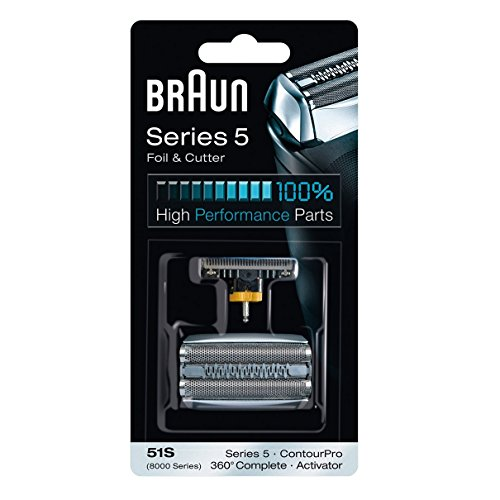 Braun Series 5 Combi 51s Foil And Cutter Replacement (Formerly 8000 360 Complete Or Activator), Super Size Value Package 2- Replacements by Braun -